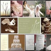 white, ivory, green, brown, Beach, Inspiration board