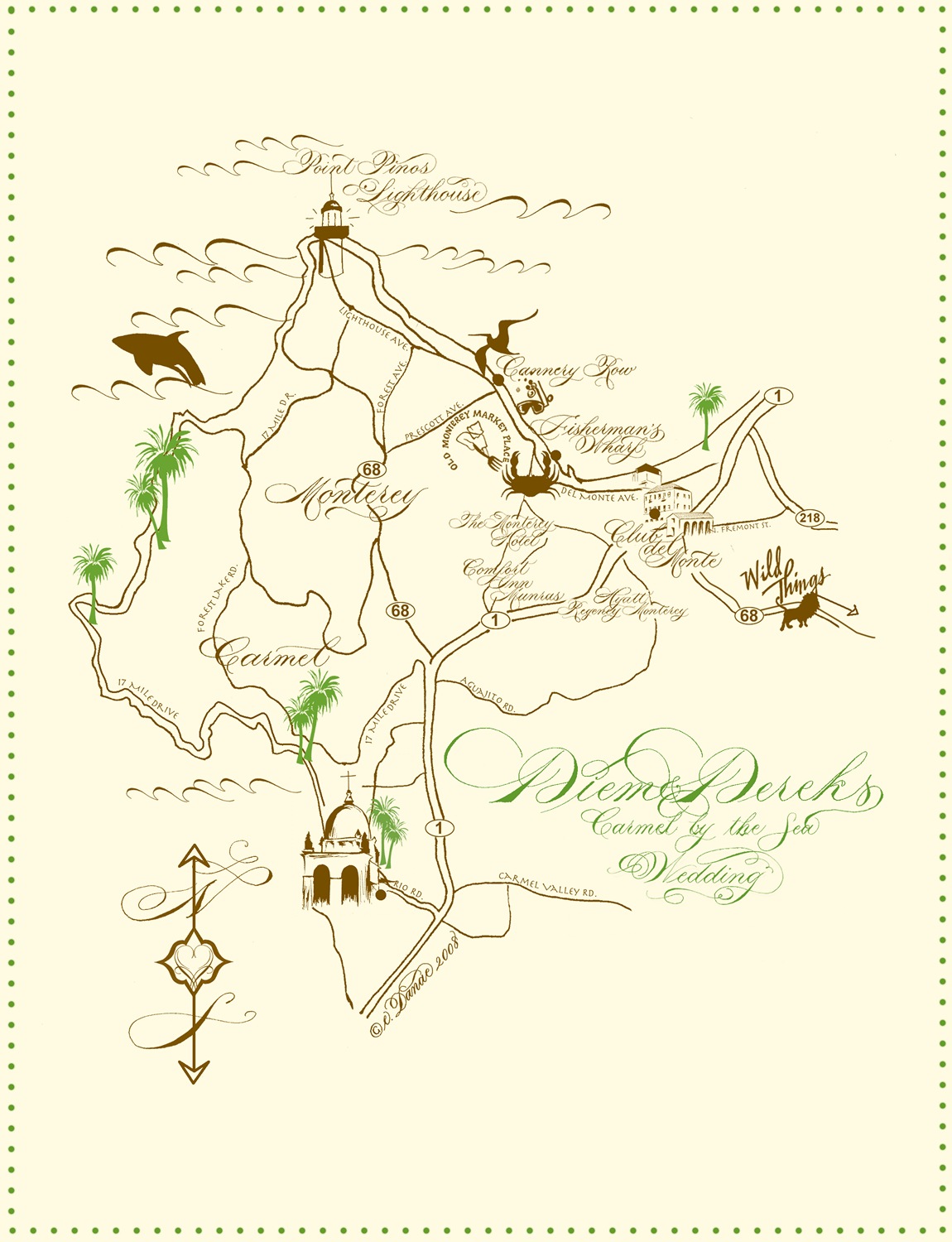 Map, E danae art calligraphy