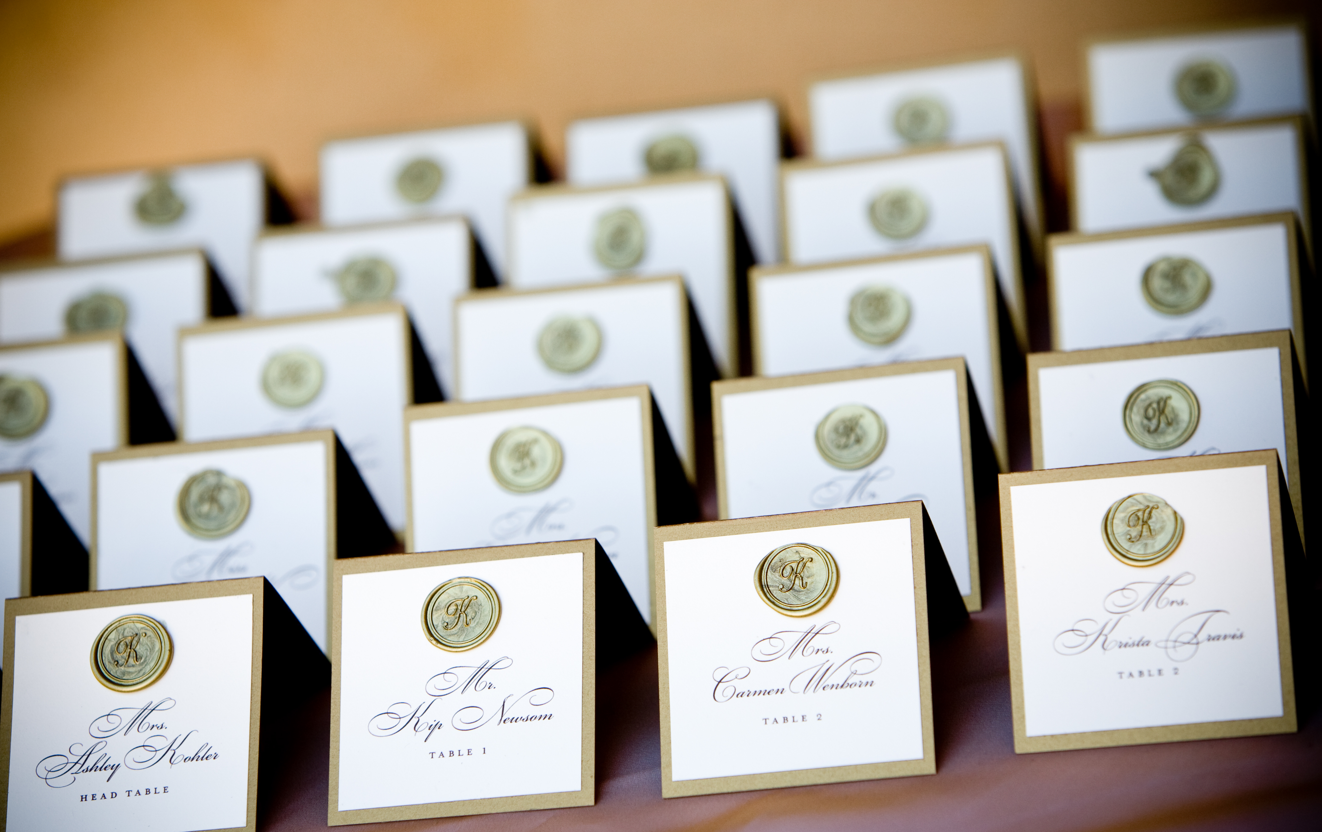 Stationery, white, brown, Escort Cards, Cards, Escort, Place, Ashley kohler events, April smith photography, Chateau felice
