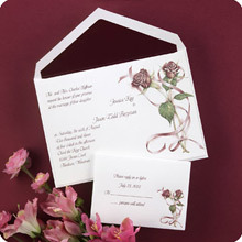 Stationery, Invitations, Roses, Wedding, Regal, Nex graphics invitations