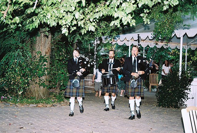Reception, Flowers & Decor, Outdoor, Cocktail, Music, Hour, Beau weddings events, Bagpipers