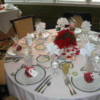 red, Platinum, Apples, Place setting
