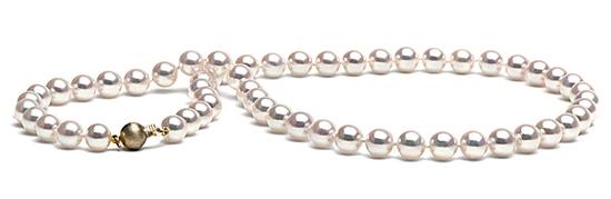 white, Pearls, Necklace, Pearl, Strand, Pearlparadisecom, Akoya, Hanadama