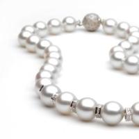 white, Pearls, Necklace, Pearl, South, Sea, Strand, Pearlparadisecom, Southsea, Australian