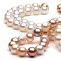 Jewelry, Necklaces, Pearls, Color, Pearl, Natural, Freshwater, Pearlparadisecom, Multi-color