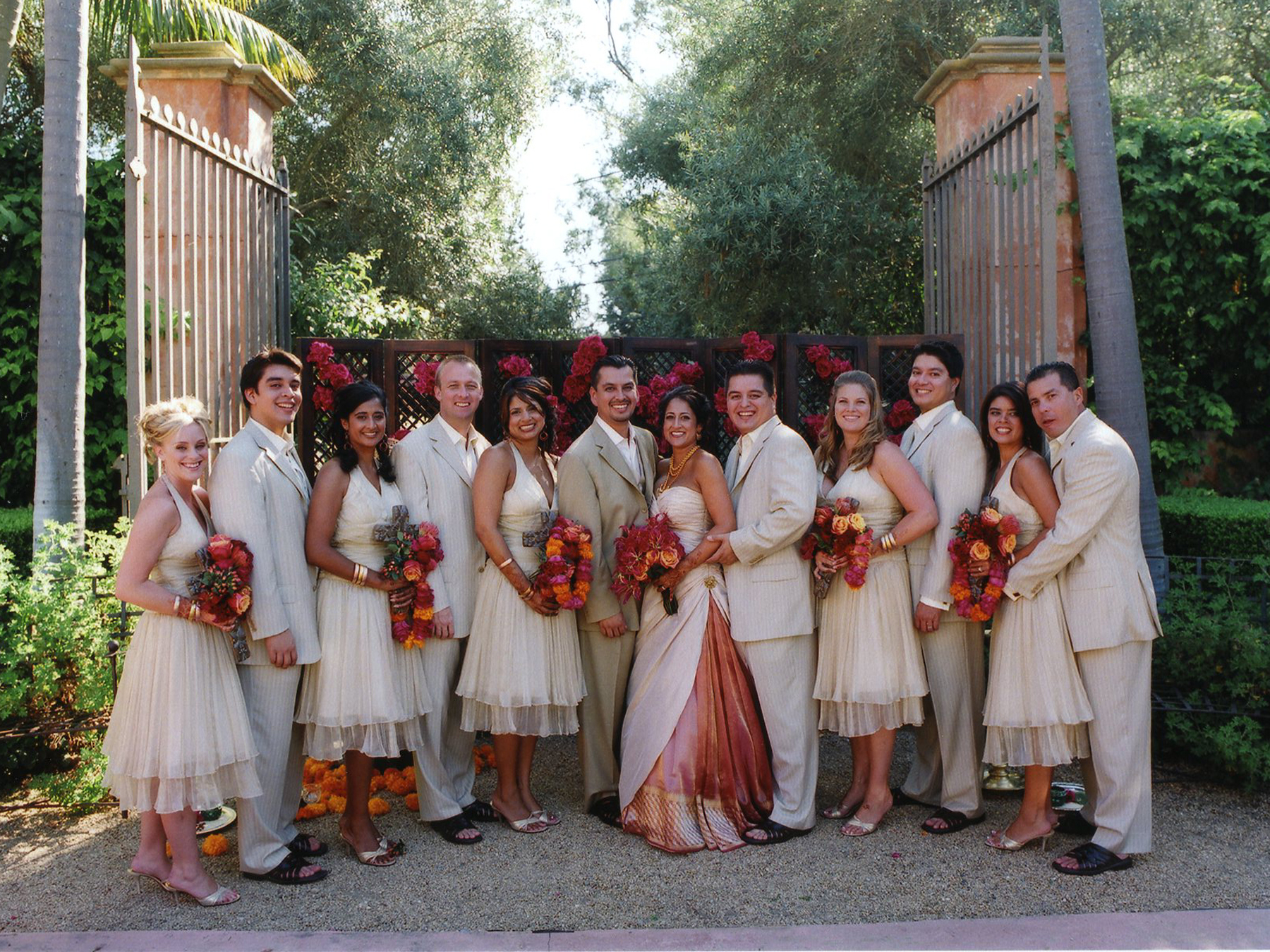 traditional mexican wedding wear mexican wedding dress The Wedding Party Models A Soft Neutral Palette Allowing