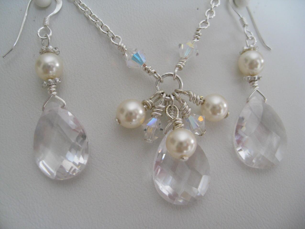 Bridesmaids, Bridesmaids Dresses, Fashion, Pearls, Swarovski, Maisie, Cubic, Zirconia