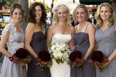 Bridesmaids, Bridesmaids Dresses, Fashion, Grey