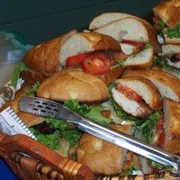 Terrace catering, Sandwiches