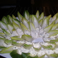 Wedding, At, Display, Dinner, Rehersal, Terrace catering, Endive