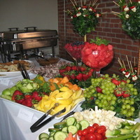 Wedding, Display, Terrace catering