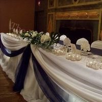 cake, Decor, blue, Table, Head, Theme, The wedding decorators inc, Colour, Flowers & Decor, Cakes