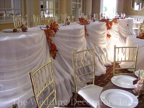 Flowers & Decor, Decor, brown, Fall, Rustic, Table, Theme, Head, Colour, The wedding decorators inc