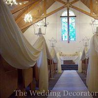 Ceremony, Flowers & Decor, ivory, Romantic, Candle, Elegant, Draping, Theme, Aisle, Light, The wedding decorators inc