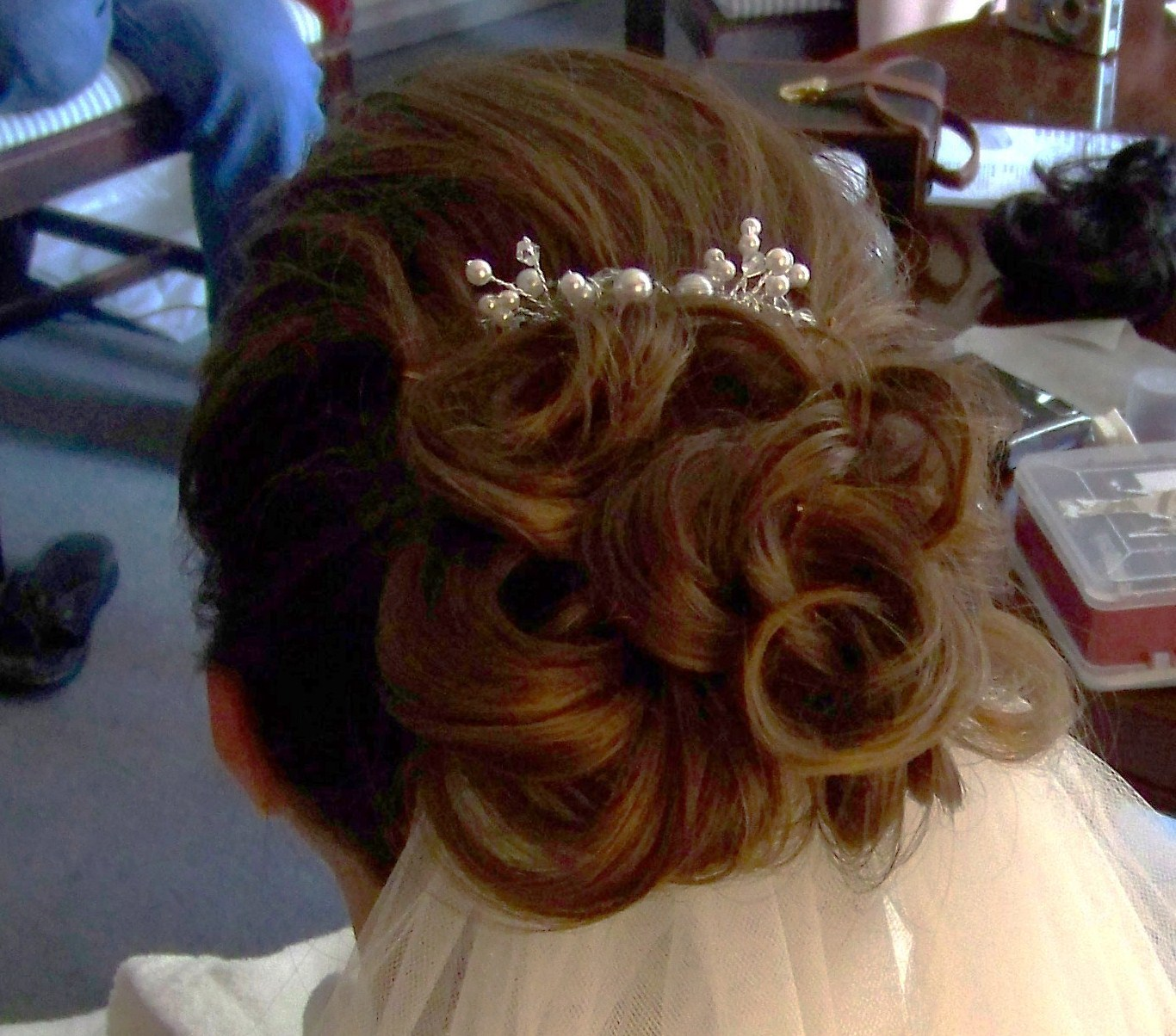 Beauty, Jewelry, Tiaras, Updo, Wedding, Tiara, Day, Curls, Keri anne shea beauty