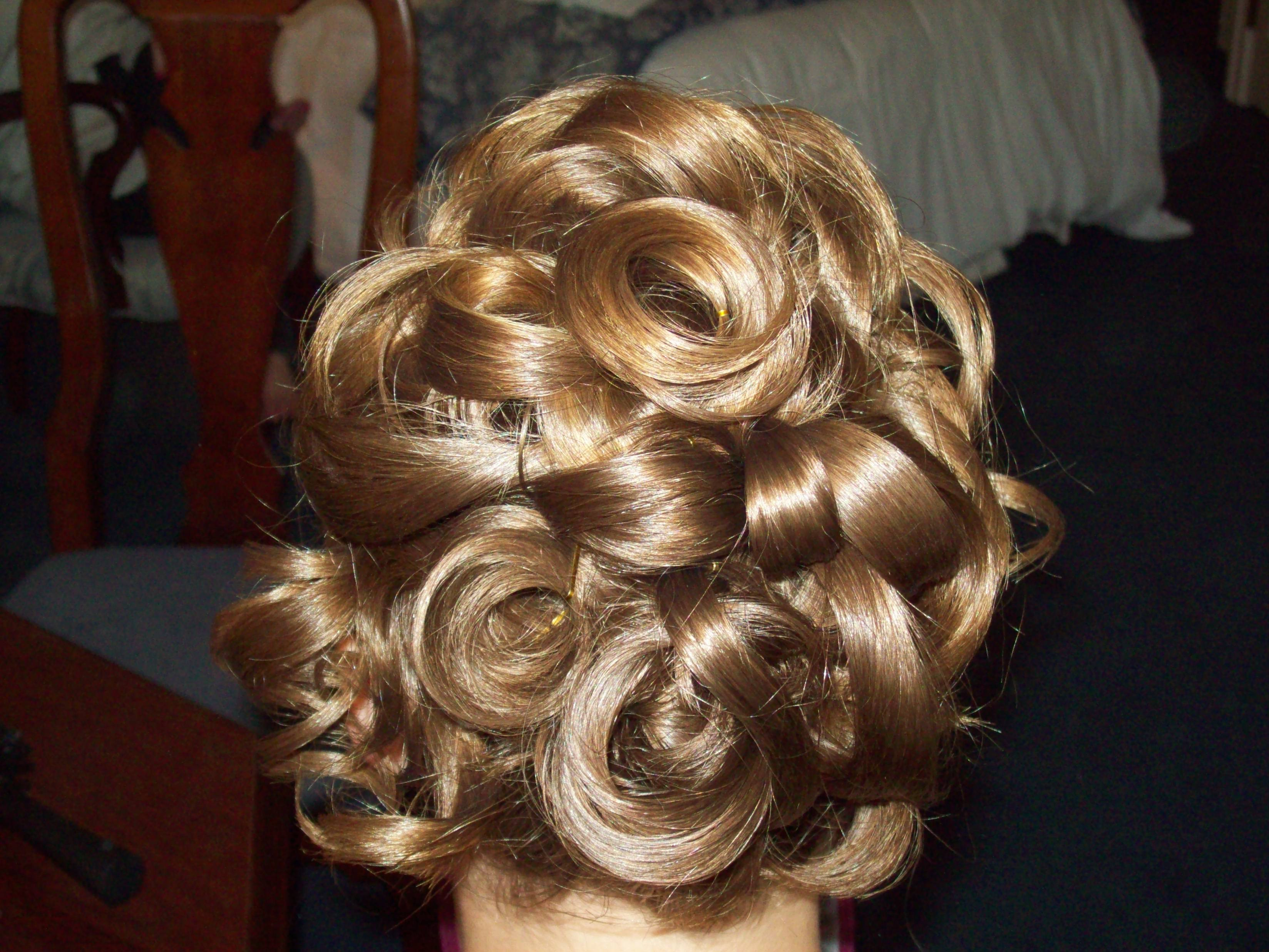 Updo, Bridesmaid, Curls, Keri anne shea beauty