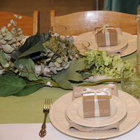 Table, Runner, Topaz