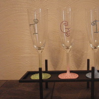 ivory, Custom, Party, Bridal, Champagne, For, Glass, Three galas designs