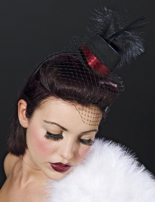 Beauty, Feathers, Accessories, Wedding, Bridesmaid, Hair, Bridal, Mini, Hat, Top, Feather, Topperhats, Burlesque, Facinator