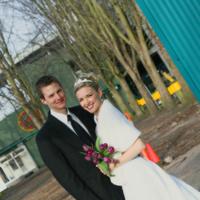 Wedding Dresses, Fashion, white, purple, dress, Bride, Outdoor, Groom, Pogoda studio - photography, Granville island