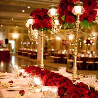 red, Centerpieces, Glam Wedding Flowers & Decor, Vintage Wedding Flowers & Decor, Winter Wedding Flowers & Decor