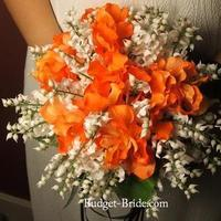 Flowers & Decor, orange, Flowers, Budget-bridecom