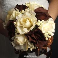 brown, Wedding, Budget-bridecom