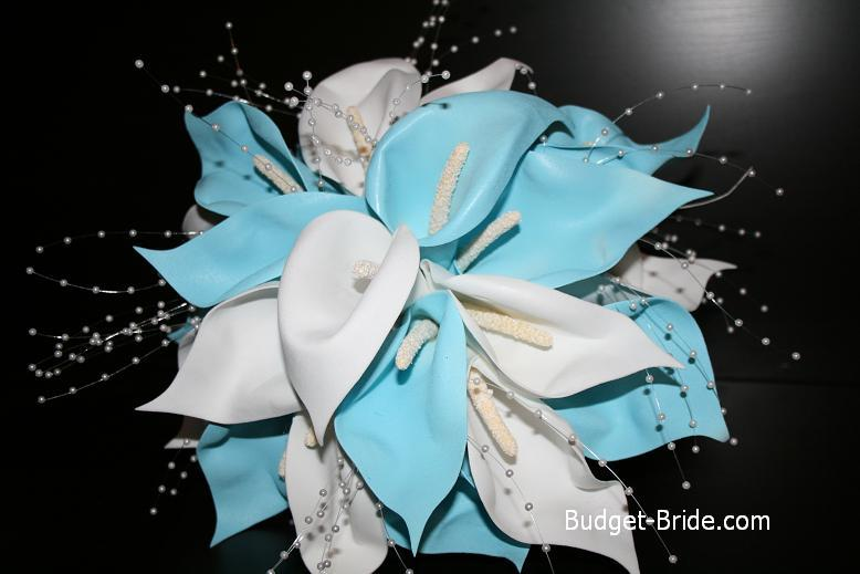 Flowers & Decor, Flowers, Aqua, Budget-bridecom