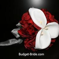 Bridesmaids, Bridesmaids Dresses, Fashion, red, Bouquet, Budget-bridecom