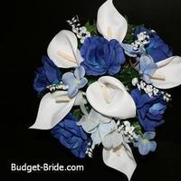 Flowers & Decor, blue, Flowers, Budget-bridecom