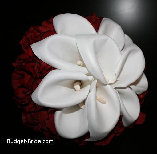 Bouquet, Calla, Bridal, Lily, Budget-bridecom