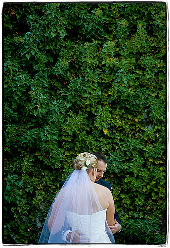 green, Bride, Groom, Lindsay docherty photography