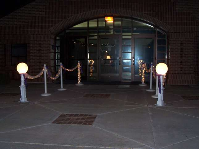 Flowers & Decor, Flowers, Tulle, Lights, Entry way, Cinderella receptions