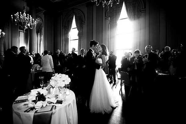 green, Bride, Groom, Dance, First, Room, Lori paladino photography