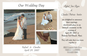 Stationery, Announcements, Invitations, Wedding, The, Save, Date, Announcement, Photo flair designs