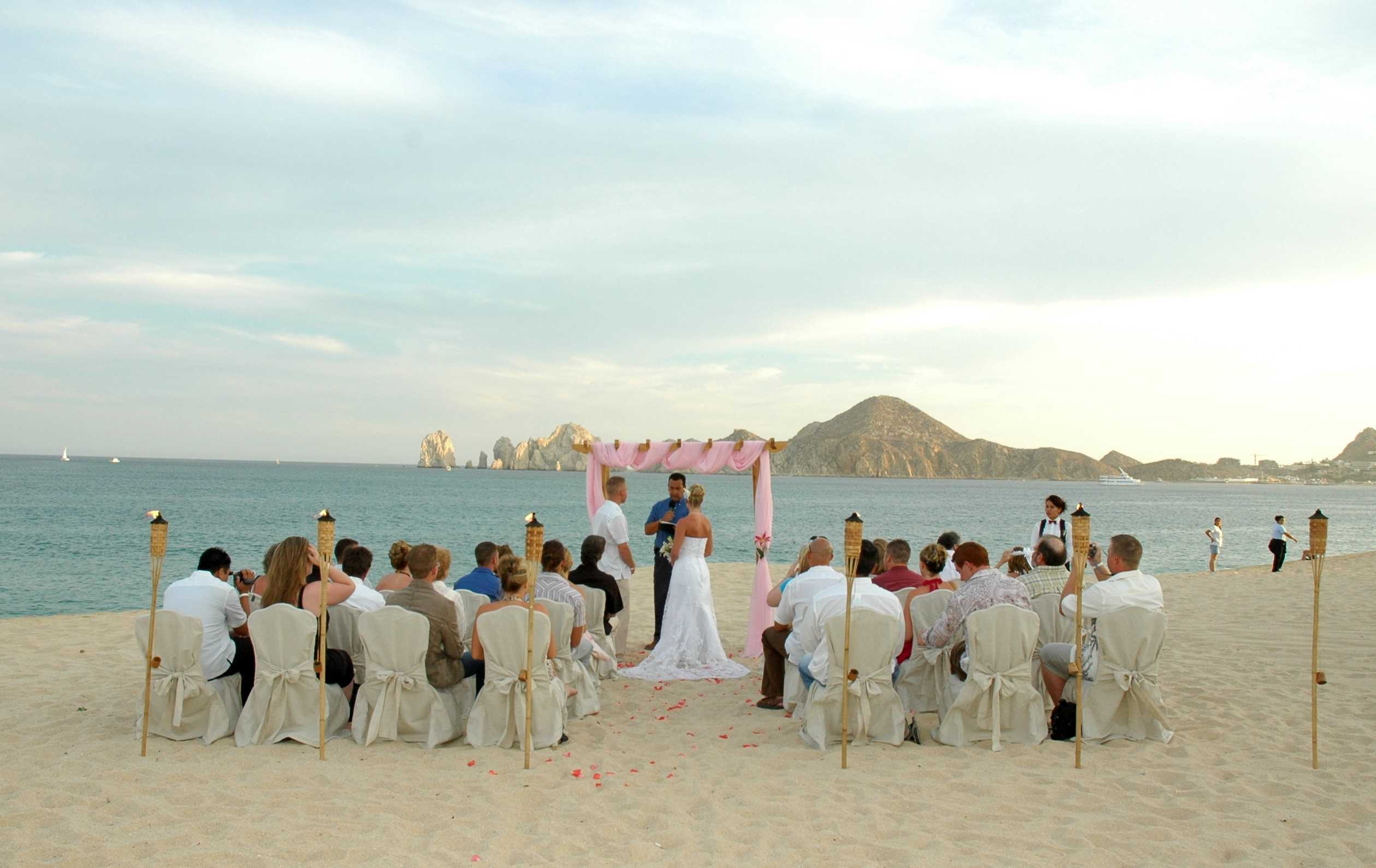 Ceremony, Flowers & Decor, Destinations, Mexico, Beach, Beach Wedding Flowers & Decor, Wedding, Destination, All about honeymoons