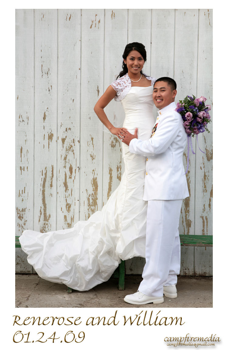 Fashion, Bride, Groom, Military, Service, Pose, Campfire media, Lemoore, Filipino