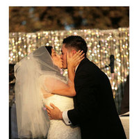 Ceremony, Flowers & Decor, Vineyard, Bride, Outdoor, Groom, Kiss, Outside, Livermore, Latin, Campfire media