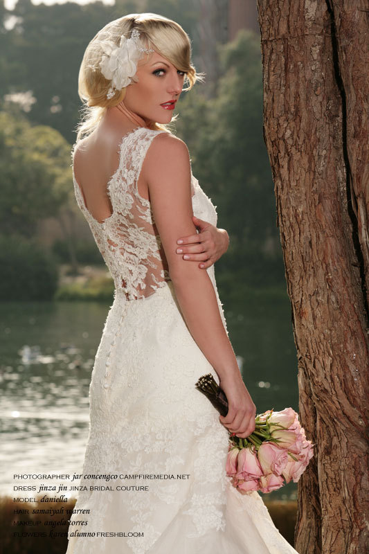 Wedding Dresses, Fashion, dress, Bride, Bouquet, Bridal, Blonde, Campfire media, Jinza