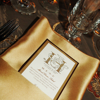 brown, gold, Fall, Menu, Chocolate, Napkin, Satin, llc, Card, Virtuous events