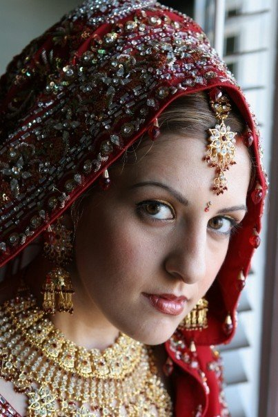 Beauty, Ceremony, Flowers & Decor, Makeup, Bride, Wedding, Jewellery, Multicultural, The beginning of forever