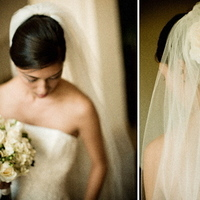 Beauty, Real Weddings, blue, Chignon, Wedding, Pasadena, Wedding dress, Wedding photos, Bridal attire