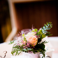 Reception, Flowers & Decor, Destinations, pink, Europe, Centerpieces, Flowers, Centerpiece, Wedding, Germany
