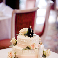 Cakes, Destinations, white, pink, cake, Europe, Wedding, Germany
