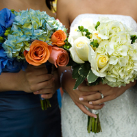 Flowers & Decor, Real Weddings, blue, Bride Bouquets, Flowers, Bouquet, Wedding, Pasadena, Alexandra margulies, Wedding photos