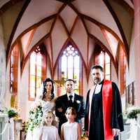Ceremony, Flowers & Decor, Destinations, pink, Europe, Flower, Wedding, Girls, Germany