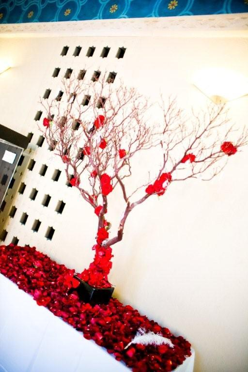 Reception, Flowers & Decor, Decor, red, Modern, Flowers, Modern Wedding Flowers & Decor, Wedding