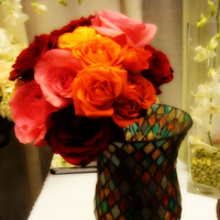 Flowers & Decor, yellow, orange, pink, red, Bride Bouquets, Flowers, Bouquet, Deep, Rich