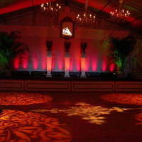 Reception, Flowers & Decor, Lighting, Dance, Theme, Gobo, Color, Floor, Stage, Pattern, Projection