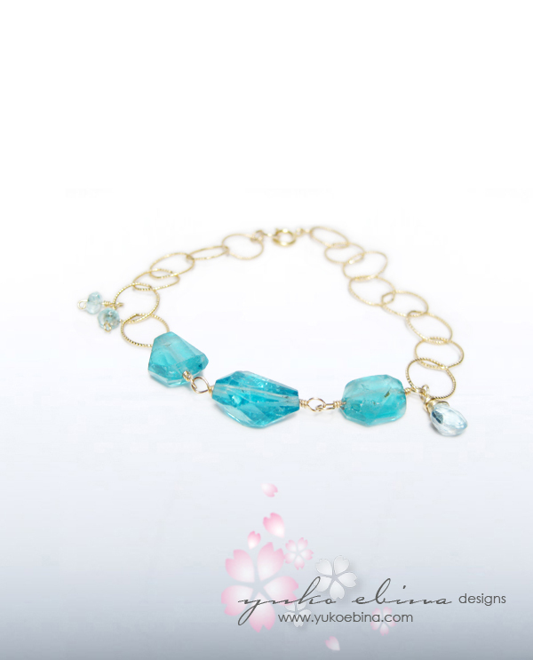 Jewelry, blue, Wedding, Bridesmaid, Bridal, Something, Yuko ebina designs jewelery